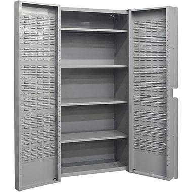 KLETON – Armoire à combinaison à portes creuses, 4 tablettes