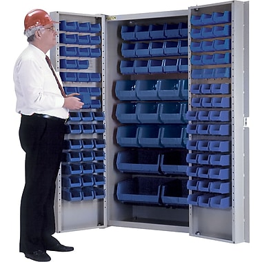 KLETON Deep Door Combination Cabinets, 118 Bins