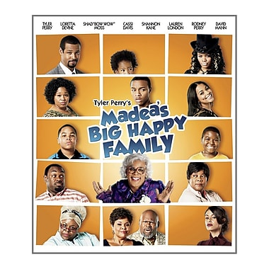 Tyler Perry's Madea's Big Happy Family Film (DISQUE BLU-RAY)