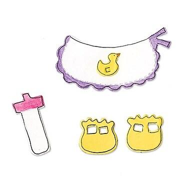 Sizzix® Originals Die, Animal Dress Ups Baby Accessories
