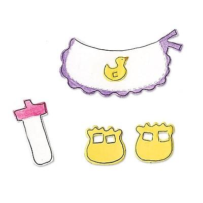 Sizzix® Originals Die, Animal Dress Ups Baby Accessories (655430)