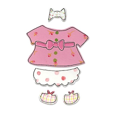 Sizzix® Originals Die, Animal Dress Ups Girl Outfit