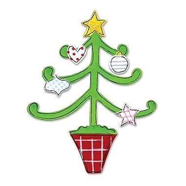 Sizzix® Originals Die, Christmas Tree w/Decorations