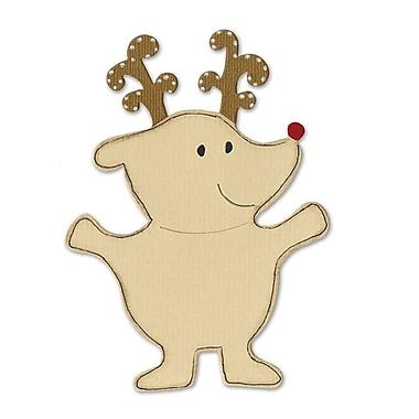 Sizzix® Bigz Die, Animal Dress Ups Reindeer