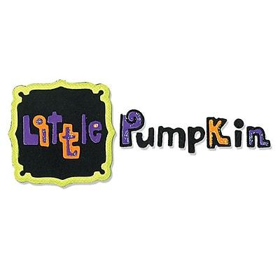 Sizzix® Sizzlits Die Set, Frame & Phrase, Little Pumpkin Set (655587)