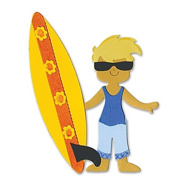 Sizzix® Bigz Die, Dress Ups Surfer Outfit