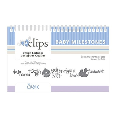 Sizzix® eclips Cartridge, Baby Milestones