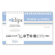 Sizzix® eclips Cartridge, School & Sports