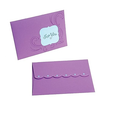 Sizzix® Movers & Shapers Pro Die, Envelope, A6 Scallop