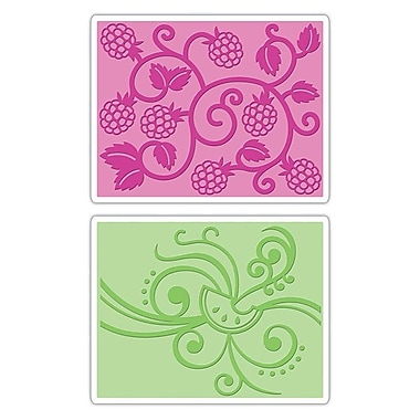 Sizzix® Textured Impressions Embossing Folder, Fruit & Vine Set