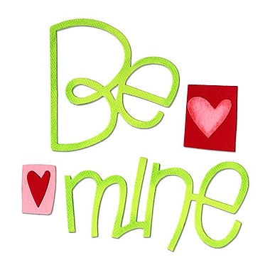 Sizzix® Bigz Die, Be Mine Phrase
