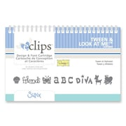 Sizzix® eclips Cartridge, Tween & Look at Me Alphabet