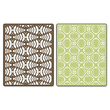 Sizzix® Textured Impressions Embossing Folder, Christmas Elegance Set