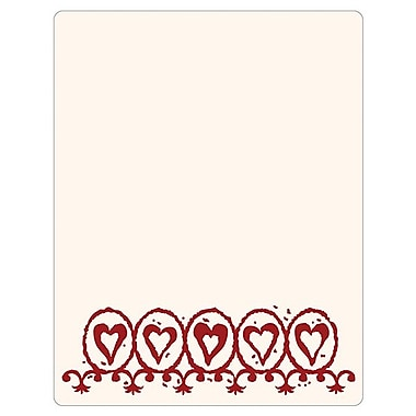 Sizzix® Ink-its Letterpress Plate, Circle Hearts