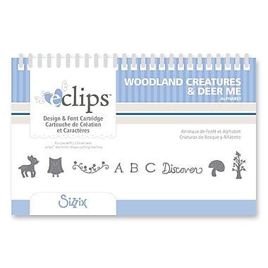 Sizzix® eclips Cartridge, Woodland Creatures & Deer Me Alphabet