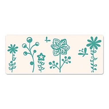 Sizzix® Ink-its Letterpress Plate, Butterflies & Flowers