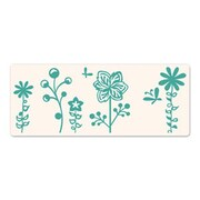 Sizzix® Ink-its Letterpress Plate, Butterflies & Flowers