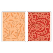 Sizzix® Textured Impressions Embossing Folder, Thickets & Swirls Set