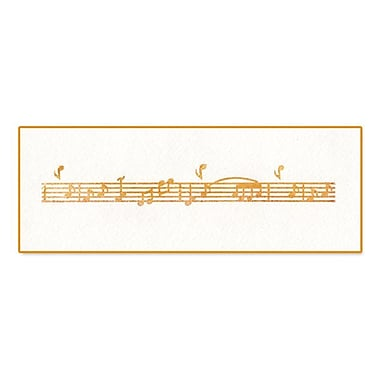 Sizzix® Ink-its Letterpress Plate, Music Notes