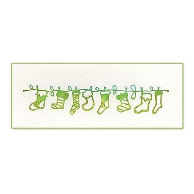 Sizzix® Ink-its Letterpress Plate, Stockings