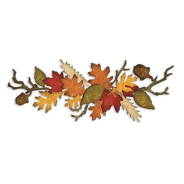 Sizzix® Sizzlits Decorative Strip Die, Autumn Gatherings