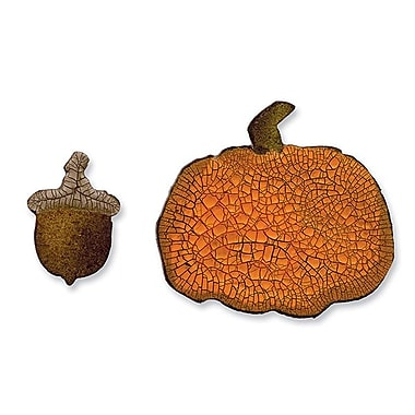 Sizzix® Movers & Shapers Magnetic Die Set, Mini Acorn & Pumpkin Set