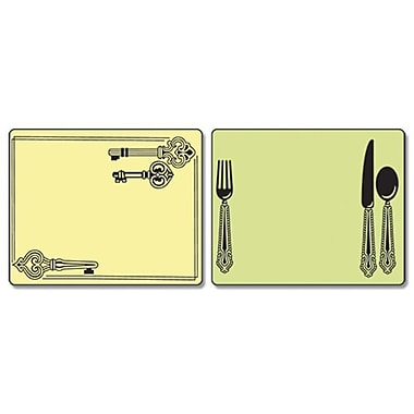 Sizzix® Textured Impressions Embossing Folder, Place Setting and Keys Set