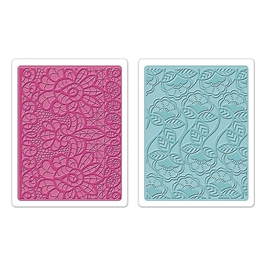 Sizzix® Textured Impressions Embossing Folder, Bohemian Lace Set