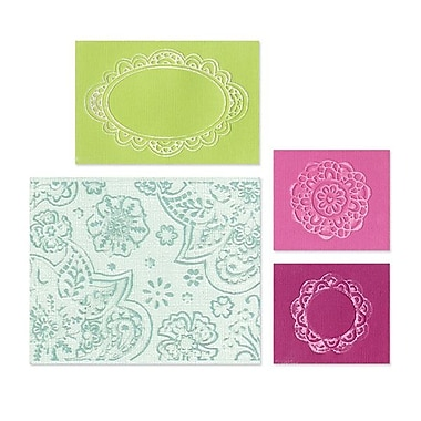 Sizzix® Textured Impressions Embossing Folder, Free Fall Florals Set