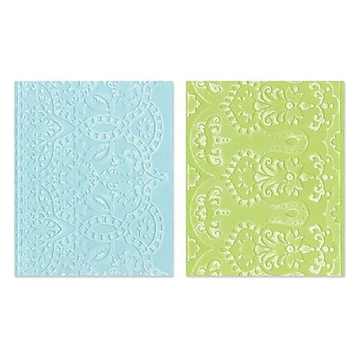 Sizzix® Textured Impressions Embossing Folder, Moroccan Daydreams Set