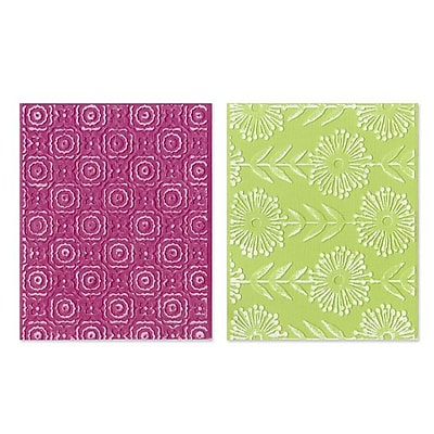 Sizzix® Textured Impressions Embossing Folder, Psychedelic Dreams Set