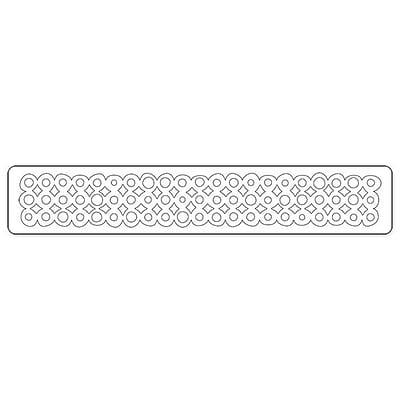 Sizzix® Sizzlits Decorative Strip Die, Washer Border