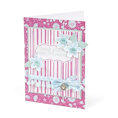 Sizzix® Textured Impressions Embossing Folder With Stamp, Stripes & Frames Set