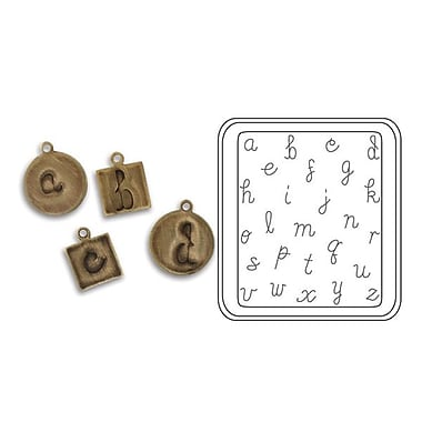 Sizzix® DecoEtch Die, Lowercase Writing