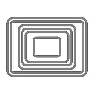 Sizzix® Framelits Die Set, Rectangles