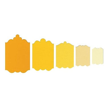 Sizzix® Framelits Die Set, Tags, Fancy