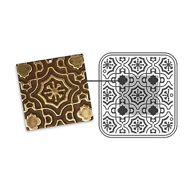 Sizzix® DecoEmboss Die, Moroccan Tile