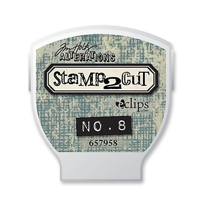 Sizzix® eclips Cartridge, Alterations Stamp2Cut No. 8
