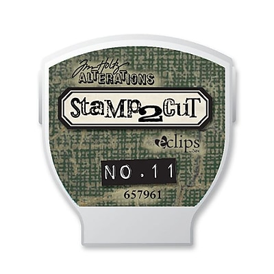 Sizzix® eclips Cartridge, Alterations Stamp2Cut No. 11