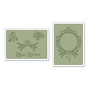 Sizzix® Framelits Die Set With Textured Impressions, Ornament Set #2