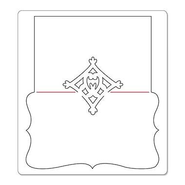 Sizzix® Bigz Die, Place Card w/Decorative Accent