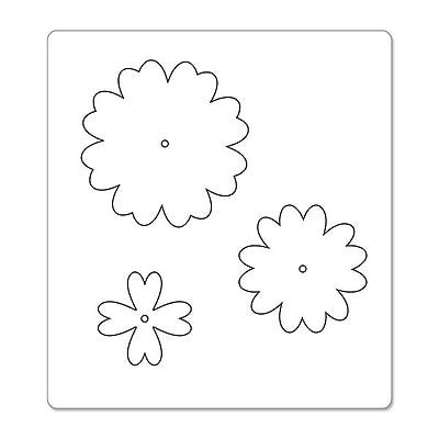 Sizzix® Bigz Die, Flower Layers w/Heart Petals