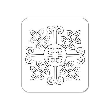 Sizzix® Textured Impressions Embossing Folder, Santa Lucia and Moguls With Bonus Sizzlits Die Set