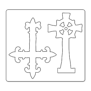 Sizzix® Bigz Die, Ornate Crosses
