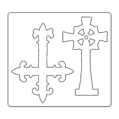 Sizzix® Bigz Die, Ornate Crosses (658245)