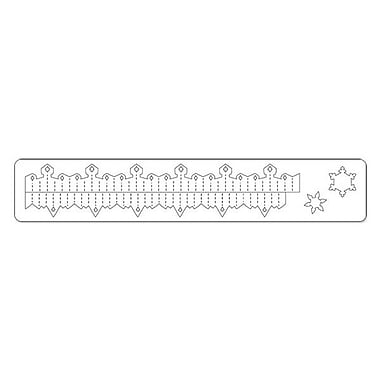 Sizzix® Sizzlits Decorative Strip Die, Mini Snowflake Rosette
