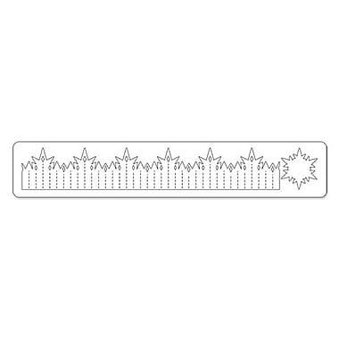 Sizzix® Sizzlits Decorative Strip Die, Snowflake Rosette