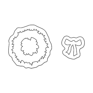 Sizzix® Movers & Shapers Magnetic Die Set, Mini Wreath & Bow