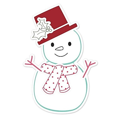 Sizzix® Framelits Die Set With Stamps, Snowman #2