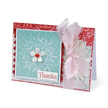 Sizzix® Textured Impressions Embossing Folder, Snowflakes Set